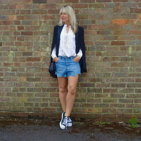 d3fb0a857b79 How to wear trainers the grown-up way with skirts