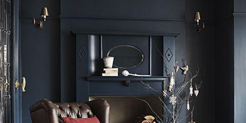 Interior design, Room, Home, Living room, Furniture, Wall, Interior design, Grey, Pillow, Home accessories,