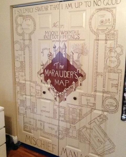 Harry Potter How To Decorate A Bedroom Like Hogwarts