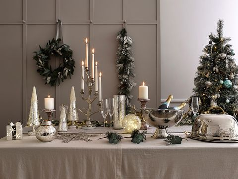 your own xmas decorations embrace metallic image - Decorate Your Home For Christmas Cheap