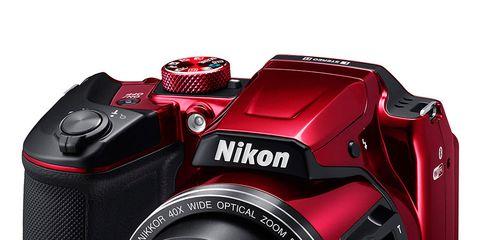Product, Electronic device, Cameras & optics, Lens, Colorfulness, Camera accessory, Camera, Digital camera, Red, Photograph,