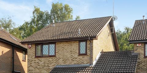 Road surface, Window, Property, House, Roof, Residential area, Real estate, Building, Asphalt, Door,