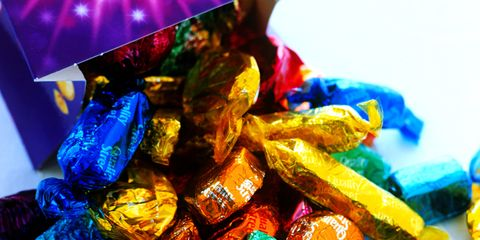Blue, Colorfulness, Amber, Sweetness, Confectionery, Collection, Still life photography, Candy, Toffee,