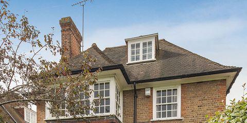 Brown, Window, Residential area, Property, House, Home, Real estate, Neighbourhood, Building, Door,