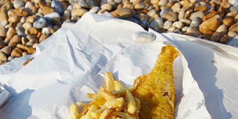 Yellow, Food, Cuisine, Fried food, White, Dish, French fries, Recipe, Pebble, Tableware,