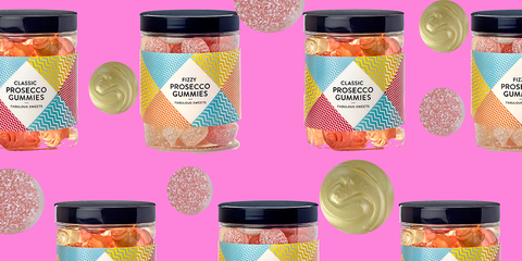 Pink, Magenta, Style, Purple, Pattern, Orange, Colorfulness, Peach, Drinkware, Lavender,