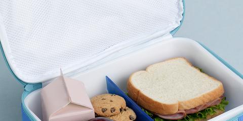 Food, Baked goods, Take-out food, Finger food, Bag, Sliced bread, Breakfast, Meal, Bread, Fruit,