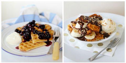 Dish, Food, Cuisine, Ingredient, Dessert, Frozen dessert, Breakfast, Brunch, Profiterole, Recipe,