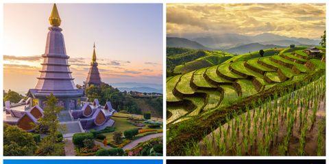 Nature, Natural landscape, Landscape, Tourism, Landmark, Field, Farm, Agriculture, Plantation, Terrace,