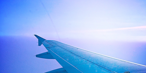 Airplane, Blue, Aircraft, Atmosphere, Airliner, Air travel, Aviation, Airline, Aerospace engineering, Wing,