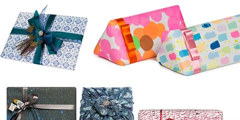 Pattern, Teal, Paper product, Wallet, Creative arts, Ribbon, Collage, Craft, Paper, Present,