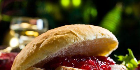 Food, Cuisine, Finger food, Ingredient, Baked goods, Sandwich, Dish, Leaf vegetable, Tableware, Bun,
