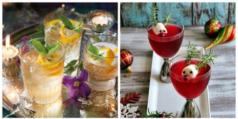 its not just the food you should be wowing your dinner guests with rustling up a good cocktail is the perfect recipe for a good evening - Best Christmas Cocktails