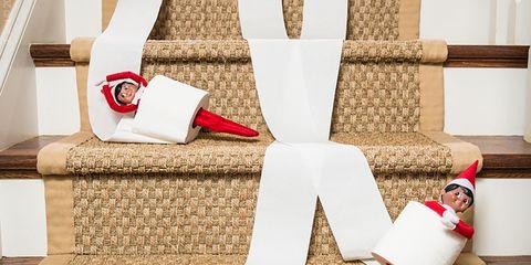 Textile, Red, Carmine, Christmas, Home accessories, Interior design, Christmas stocking, Ribbon, Christmas decoration, Present,
