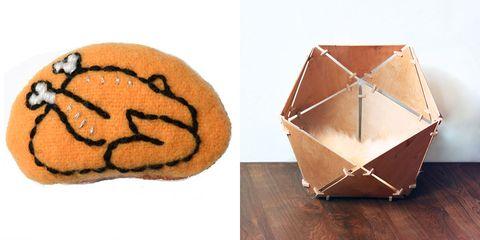 Orange, Circle, Creative arts, Ball, Craft, Snack, Finger food,