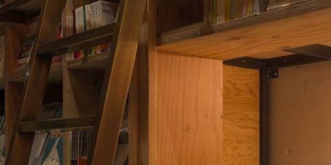 Wood, Room, Property, Bed, Hardwood, Shelf, Wood stain, Shelving, Tan, Plywood,