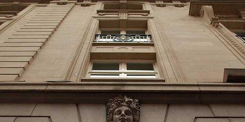 Architecture, Facade, Landmark, Iron, Metal, Symmetry, Building material,