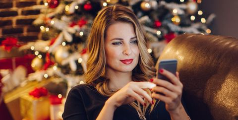Christmas, Beauty, Blond, Christmas eve, Lip, Holiday, Long hair, Sitting, Photography, Portrait photography,