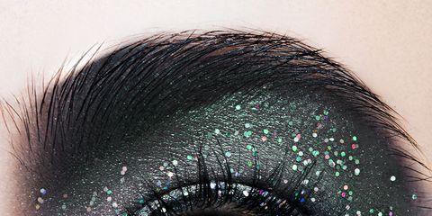 Blue, Green, Brown, Colorfulness, Eyelash, Eyebrow, Eye shadow, Violet, Purple, Teal,