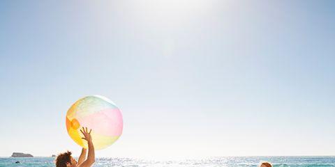 Body of water, Fun, Sky, People on beach, Water, Leisure, People in nature, Beach, Summer, Ocean,