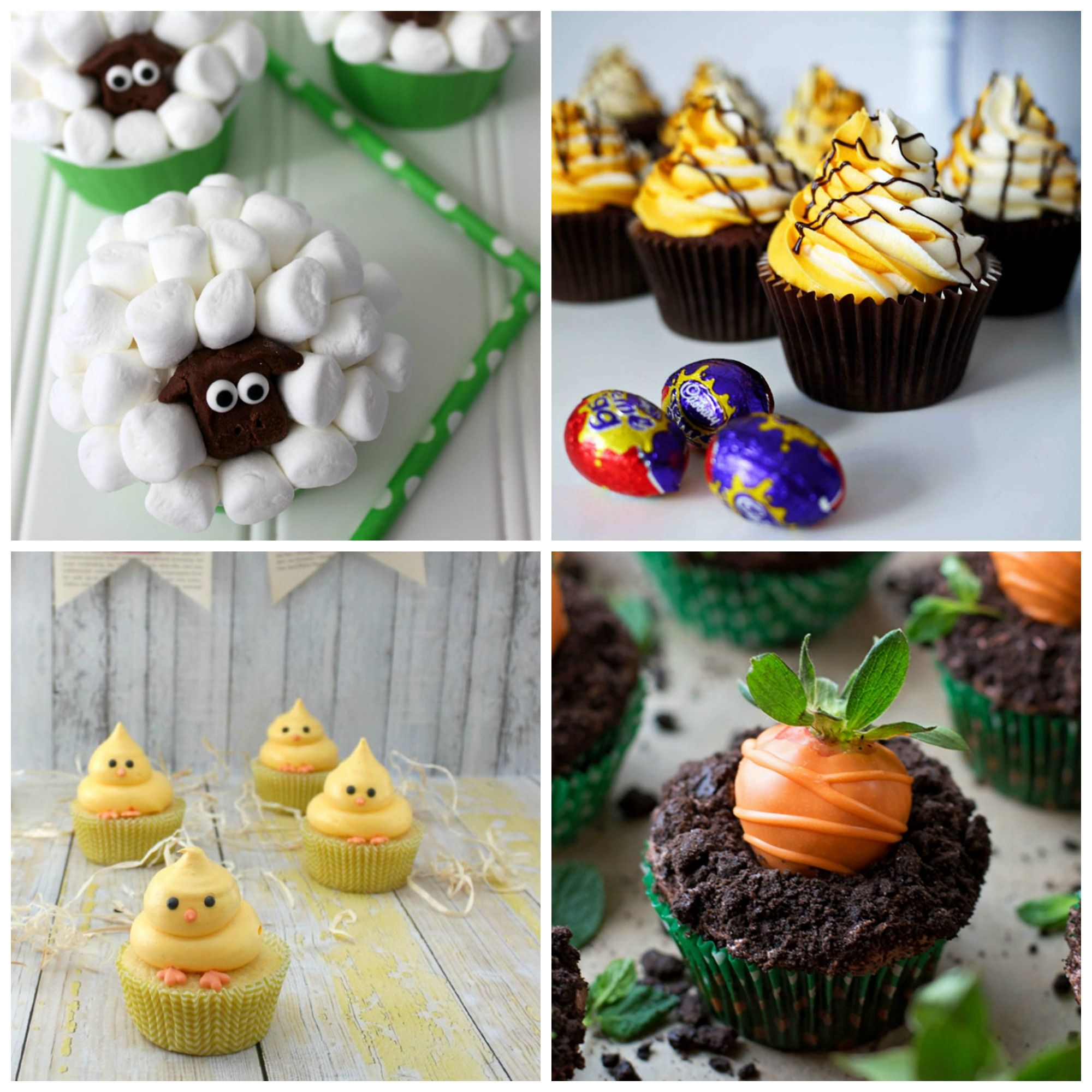 16 Easter Cupcakes Recipes