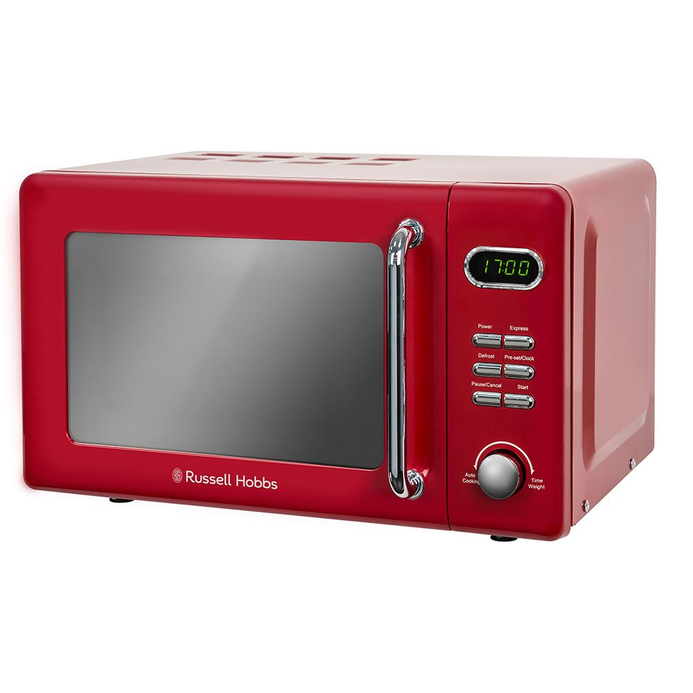 Red Russell Hobbs Microwave Kettle
