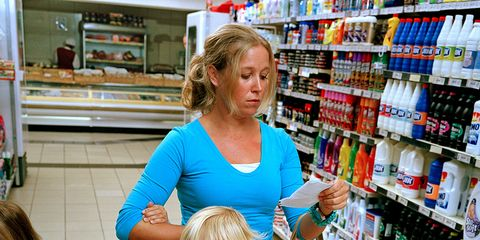 Retail, Jeans, Shopping cart, Denim, Cart, Shelf, Supermarket, Customer, Trade, Service,