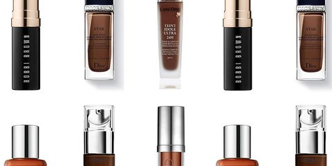 foundation for brown skin tone