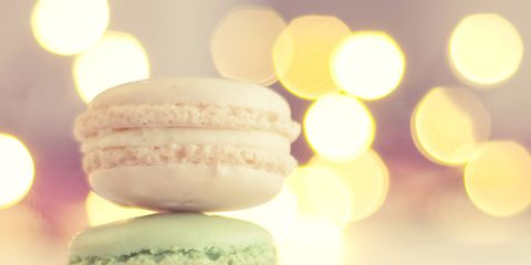 Macaroon, Sweetness, Food, Finger food, Dessert, Baked goods, Cuisine, Ingredient, Pink, Confectionery,