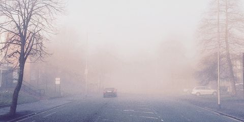 how to drive safely in fog
