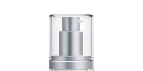 Liquid, White, Bottle, Fluid, Grey, Peach, Cylinder, Cosmetics, Silver, Brand,