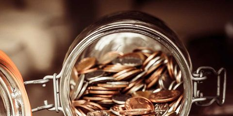 Saving, Metal, Photography, Still life photography, Close-up, Money, Money handling, Currency, Sunflower seed, Silver,