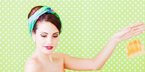 Ear, Eyelash, Style, Headpiece, Hair accessory, Peach, Linens, Headband, Bag, Day dress,
