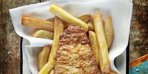 Food, Brown, Yellow, Cuisine, Fried food, Deep frying, Finger food, Tableware, French fries, Fast food,