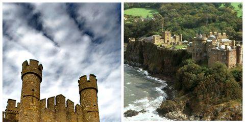 Nature, Vegetation, Natural landscape, Property, Photograph, Landmark, Door, Medieval architecture, Arch, Castle,