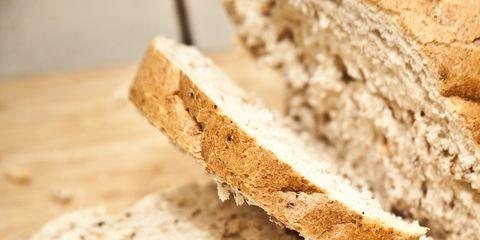 Bread, Food, Baked goods, Ingredient, Finger food, Brown bread, Gluten, Cuisine, Rye bread, Whole wheat bread,