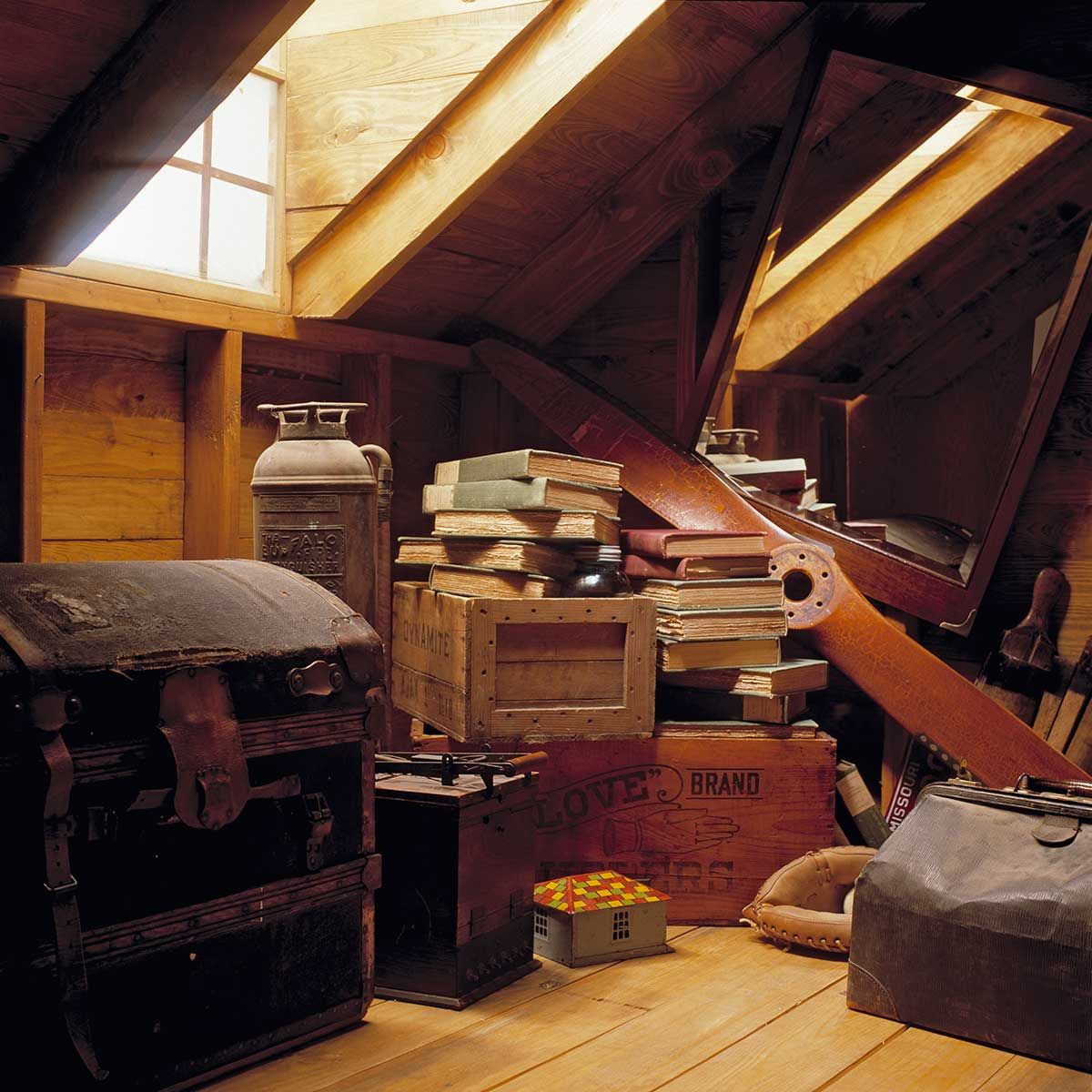 Unless Youu0027ve Had Your Attic Converted And Itu0027s Climate Controlled, It Will  Be Subject To Extremes Of Temperature And Fluctuating Humidity.