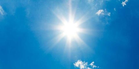 Blue, Daytime, Sky, Cloud, Atmosphere, Cumulus, Colorfulness, Sunlight, Azure, Sun,
