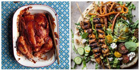 Food, Cuisine, Dish, Recipe, Fried food, Plate, Meat, Ingredient, Garnish, Chicken meat,