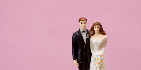 Pink, Toy, Dessert, Baked goods, Bridal clothing, Cake, Dress, Formal wear, Wedding dress, Gown,