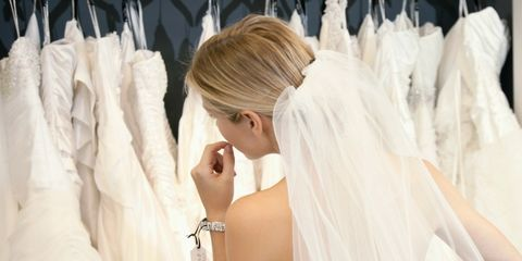 Clothing, Bridal clothing, Shoulder, Dress, Bridal accessory, Textile, Veil, Photograph, Wedding dress, White,