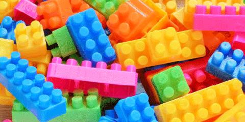 Blue, Yellow, Colorfulness, Orange, Majorelle blue, Plastic, Toy block, Aqua, Electric blue, Construction set toy,