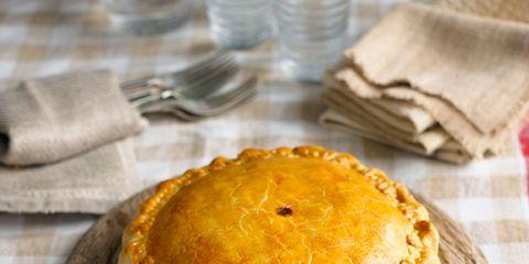 Dish, Food, Cuisine, Pot pie, Ingredient, Baked goods, Dessert, Pie, Produce, Recipe,