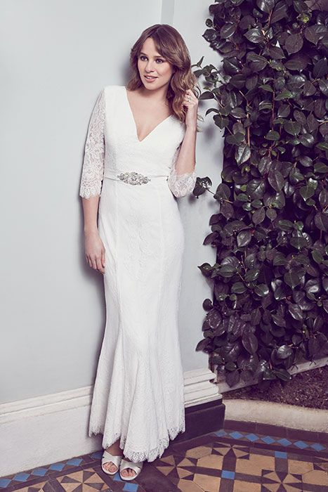 980035b322b3 The range also includes mid-length gowns for a modern touch alongside  traditional maxi, fishtail and Grecian gowns.