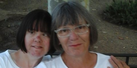 Glasses, T-shirt, Smile,