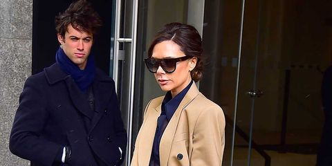 Victoria Beckham Wore One Of This Autumn S Big Trends Out In New York