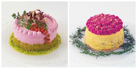 Superb These Salad Cakes Are The Prettiest Dessert Weve Ever Seen Birthday Cards Printable Giouspongecafe Filternl