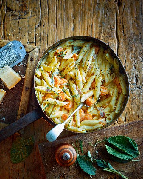 one pot butternut squash pasta