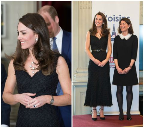 d5a22814ff4 Here Kate stepped out in a stunning bespoke Jenny Packham gown. The  embellished
