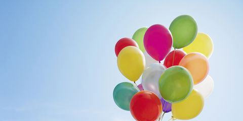 Colorfulness, Balloon, Event, Party supply, Atmosphere, Cluster ballooning, Arch, Circle, Wind,